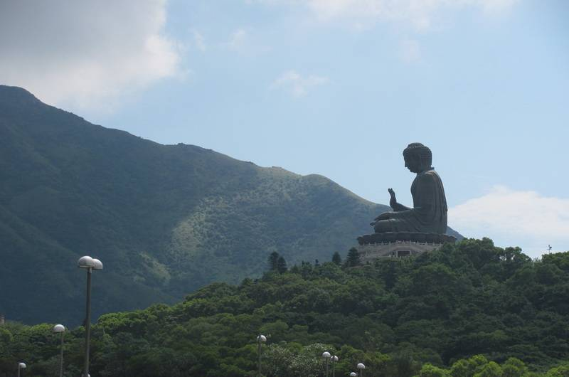 Гонконг. Бронзовый Будда