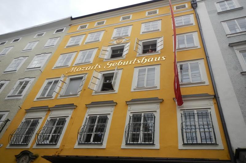 Зальцбург. Дом в котором родился Моцарт