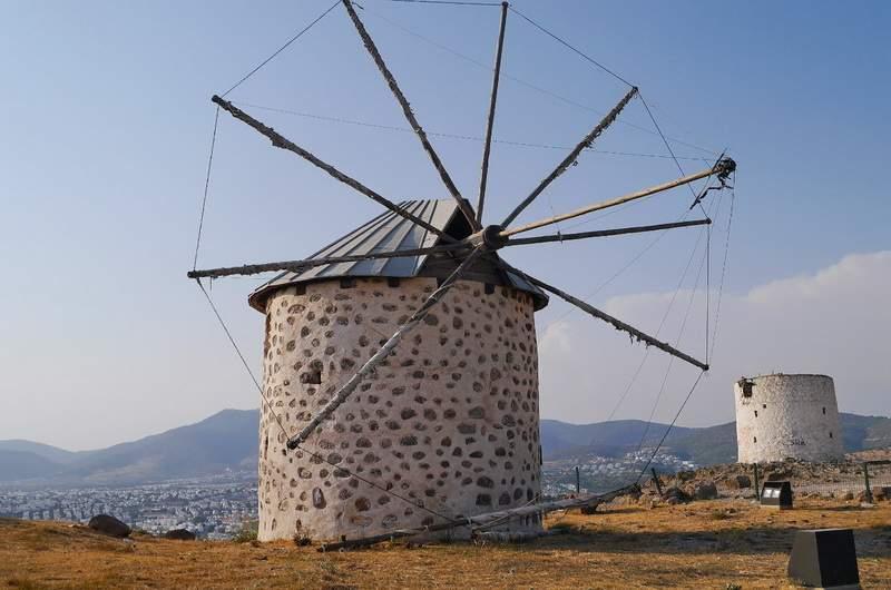 Бодрум. Ветрянные мельницы