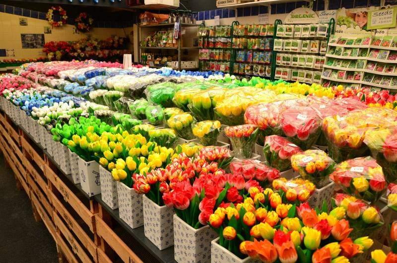 Амстердам. Цветочный рынок
