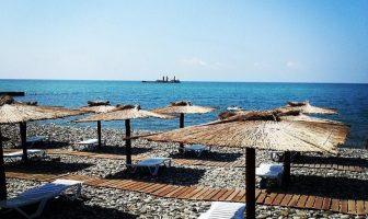 Пляж Приморский, Сочи