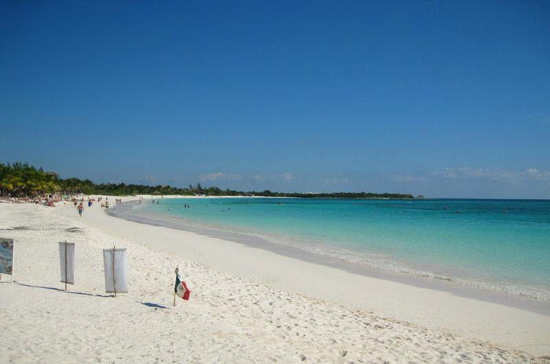 Пляжи Ривьера-Майя
