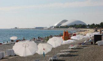 Пляж Нижнеимеретинской бухты