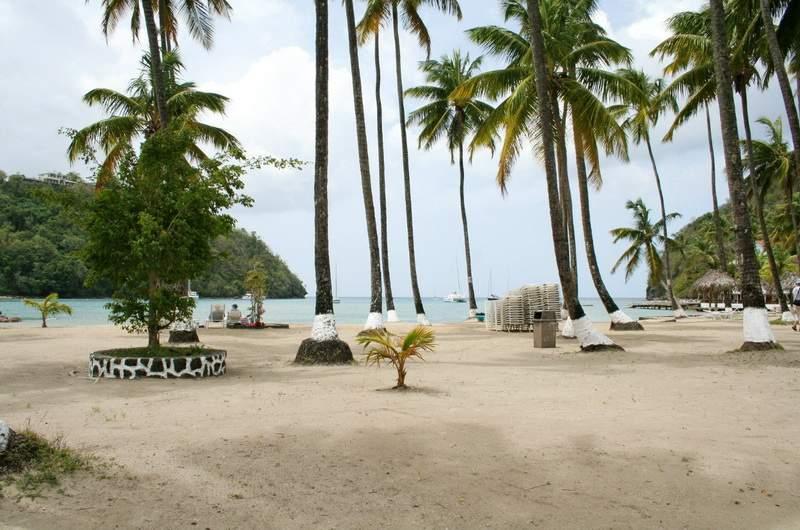 Пляжи Сент-Люсии
