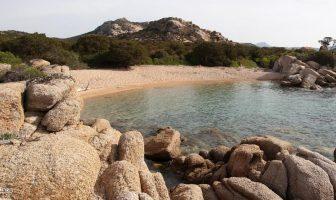 Пляж Domaine de Murtoli, Ortolo Valley на Корсике, Франция