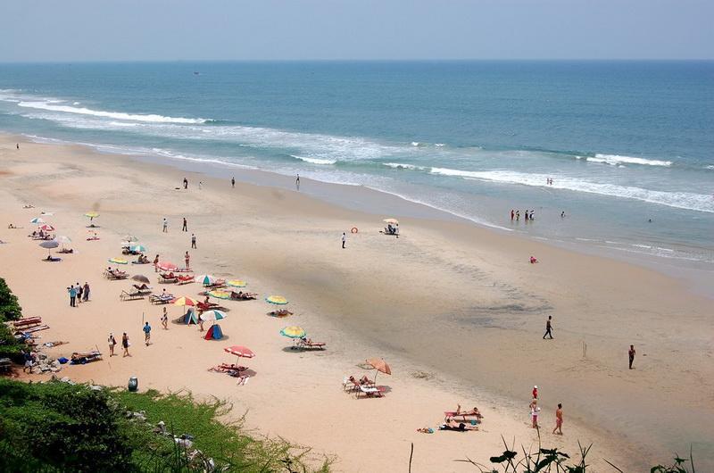 Пляж Варкала, Индия