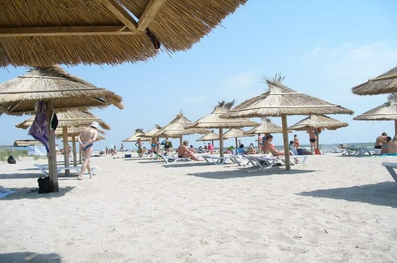 Пляжи Бердянской косы