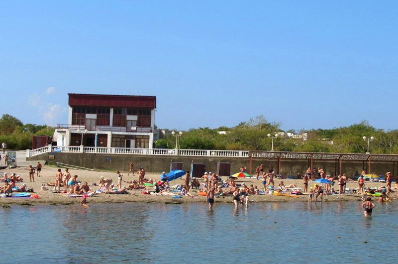 Пляж Тонкий мыс