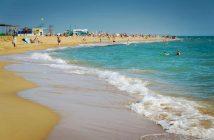 Анапа, пляж Малахит