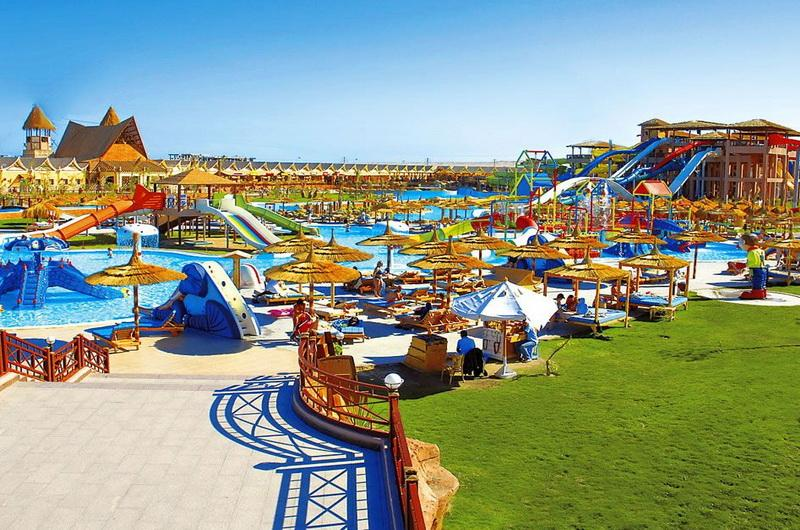 Отель Jungle Aqua Park Resort в Египте