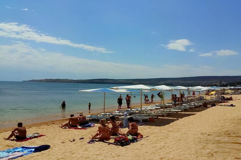 2-й городской пляж Феодосия