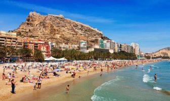 Пляж Аликанте