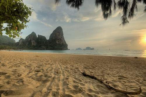 West Railay Beach, Krabi