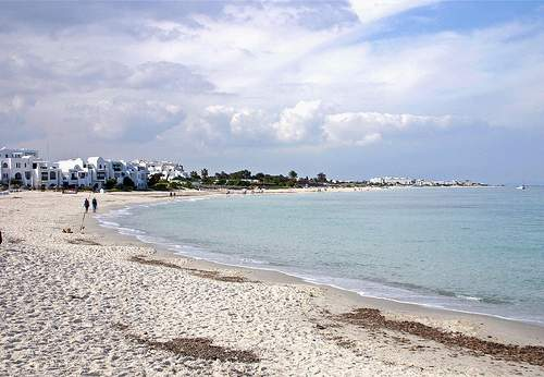 Port El Kantaoui beach