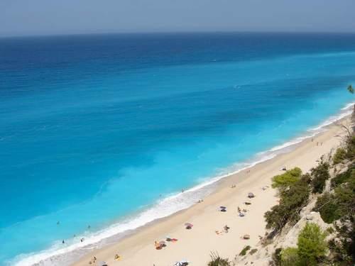 пляж Эгремни (Egremni) в Греции
