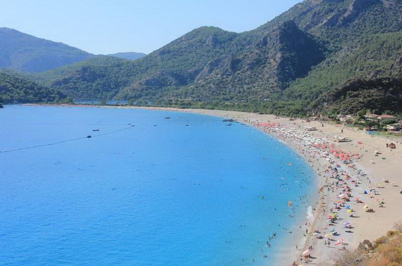 Пляжи Турции Олюдениз
