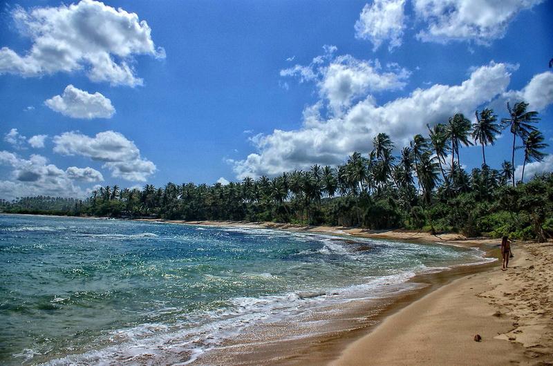 Морское побережье Шри-Ланки