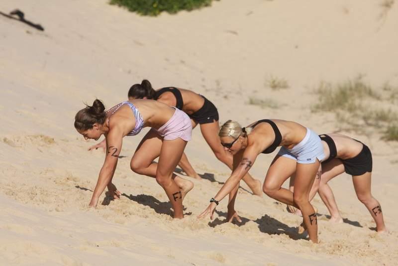 Пляжный фитнес