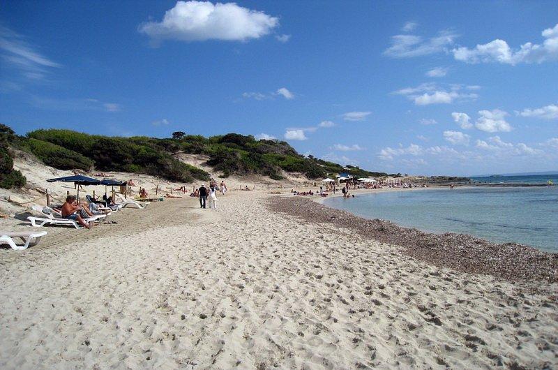 Соленый Пляж (Playa Las Salinas), Ибица, Испания