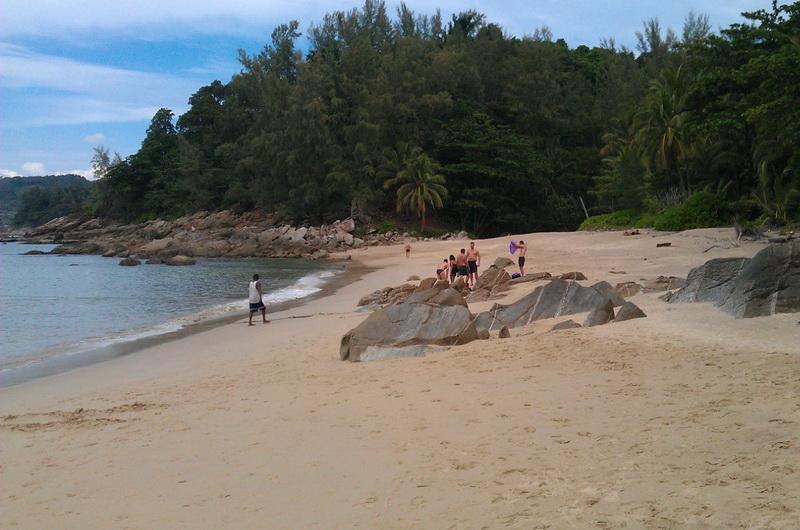 Пляж Банана Рок