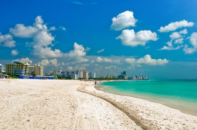 Пляжный отдых в Майами-Бич