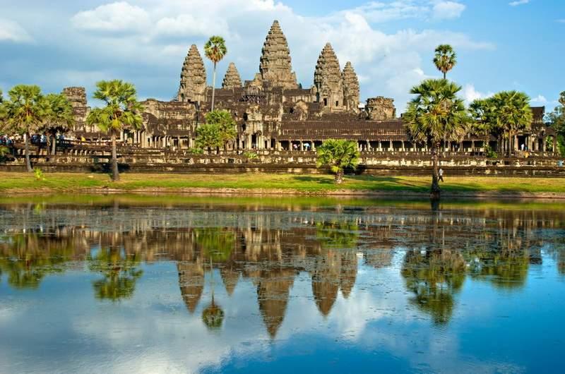 Храмовый комплекс Ангкор-Ват в Ангкор