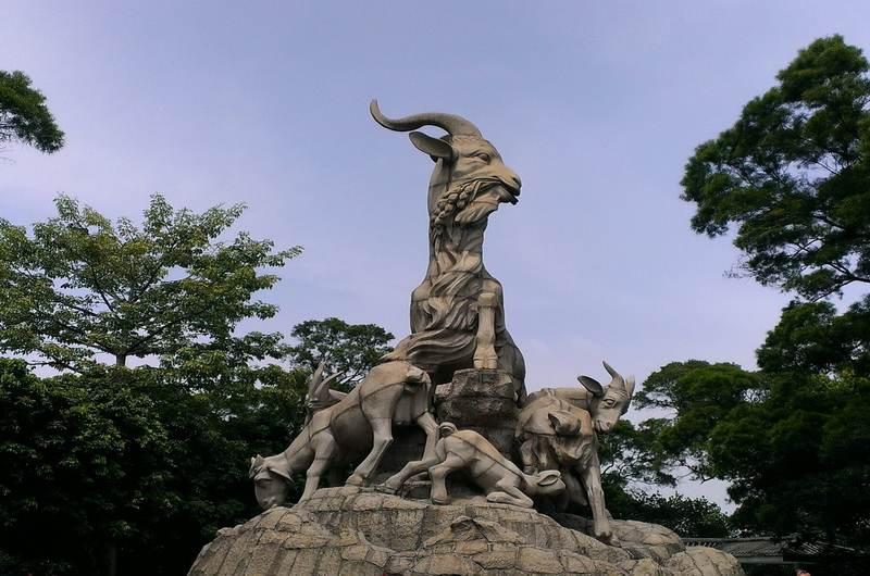 Статуя «Пяти Овнов»