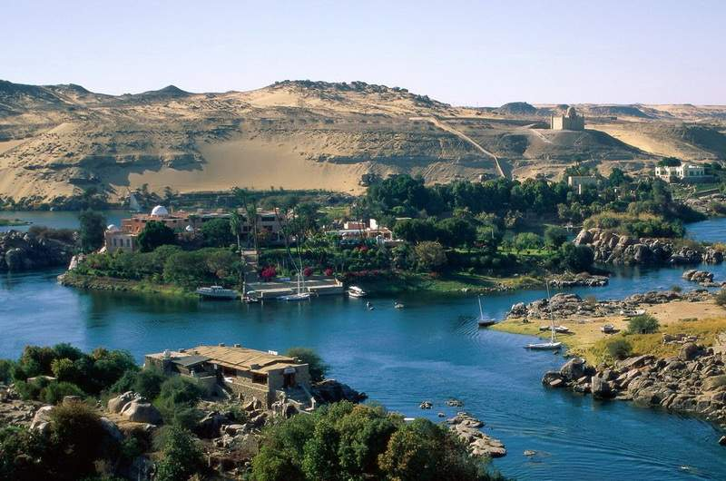Река Нил, Египет