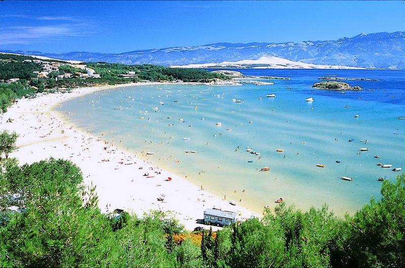 Пляжи острова Раб