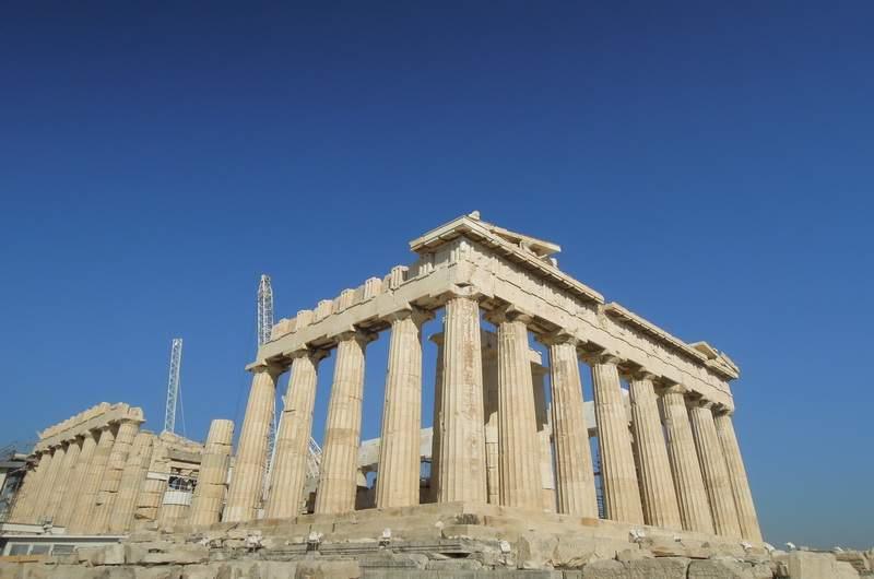 Парфенон, Акрополь в Афинах