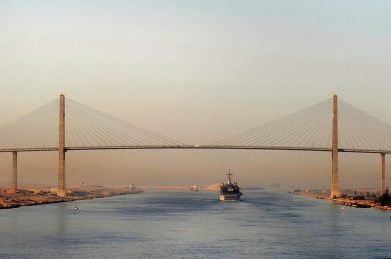 Суэцкий канал, Египет
