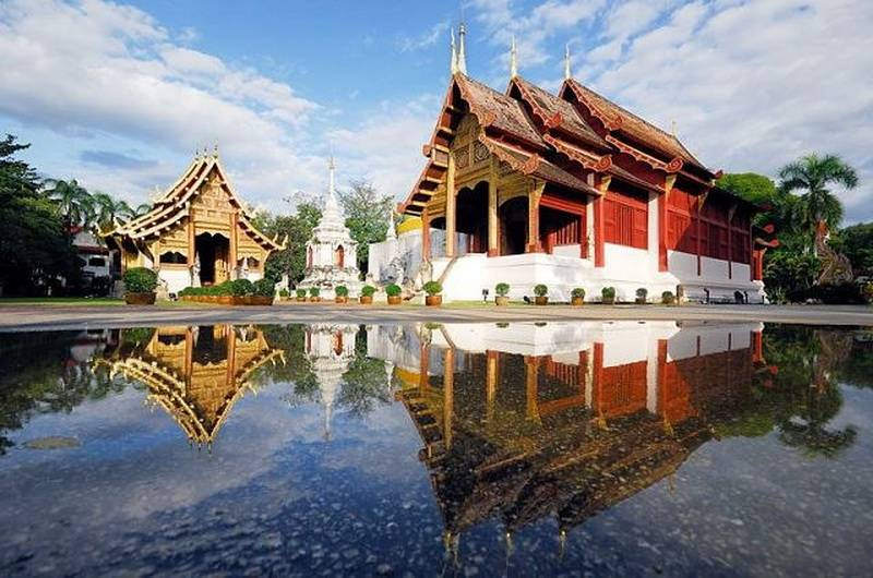 Храм Ват Пра Сингх, Чиангмай, Таиланд
