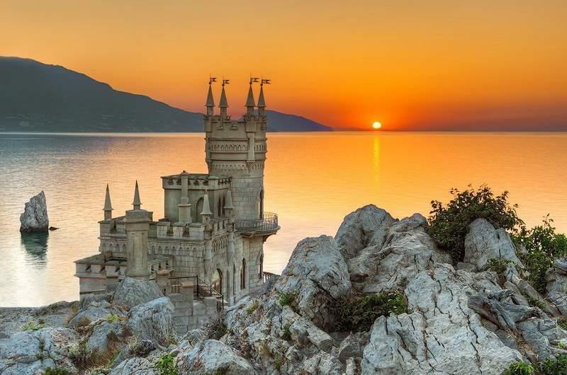 Ласточкино гнездо. Крым. Мисхор