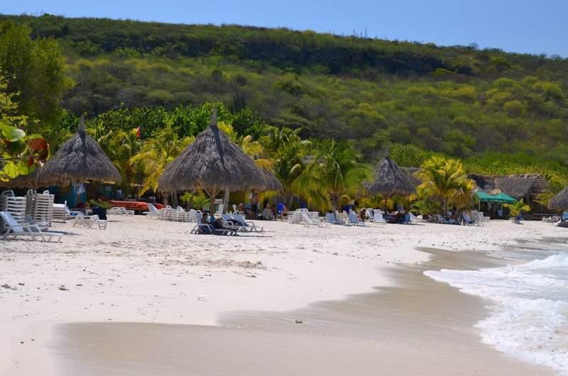 пляж Cas Abao
