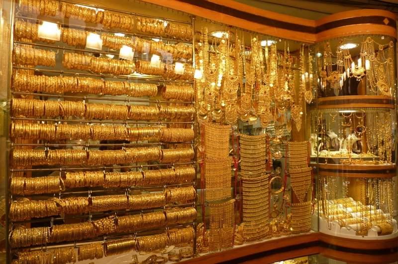 Золотой рынок в Дубаи