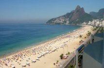 Пляж Ипанема Рио-де-Жанейро
