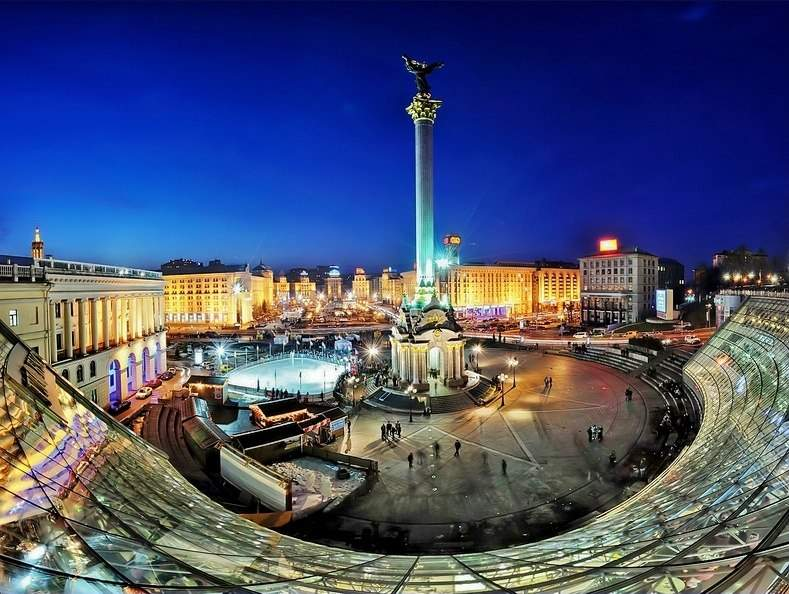 Киев, Майдан