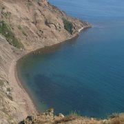 Нудистский пляж в Орджоникидзе