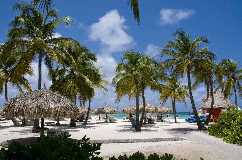 Пляж Palm beach