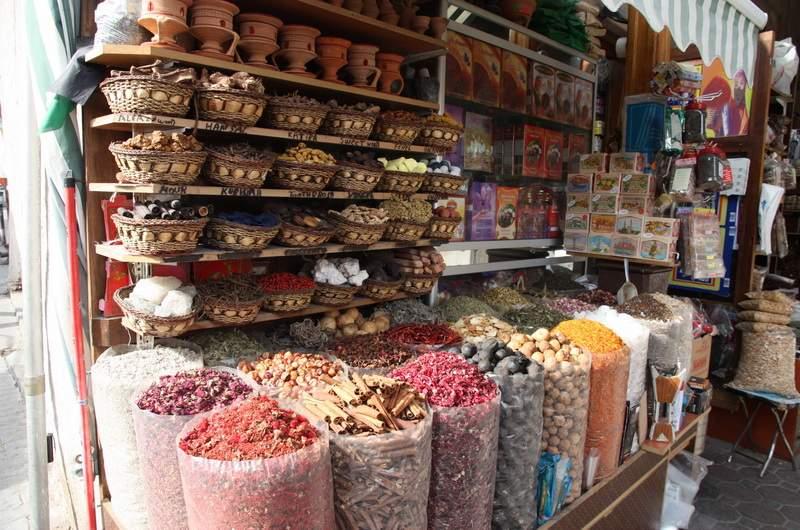 Рынок специй в Дубаи