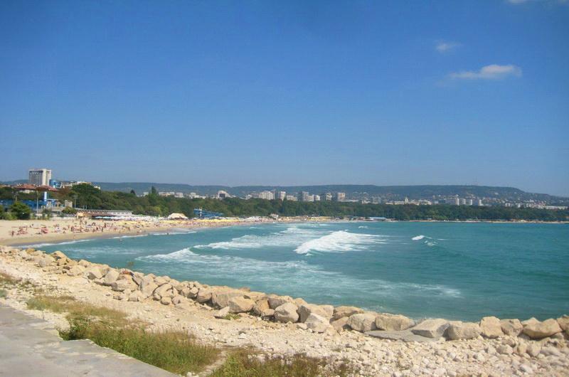 Пляж в Варне