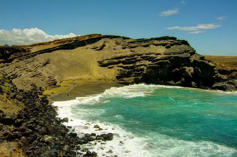 Пляж Green Sand, Гавайи