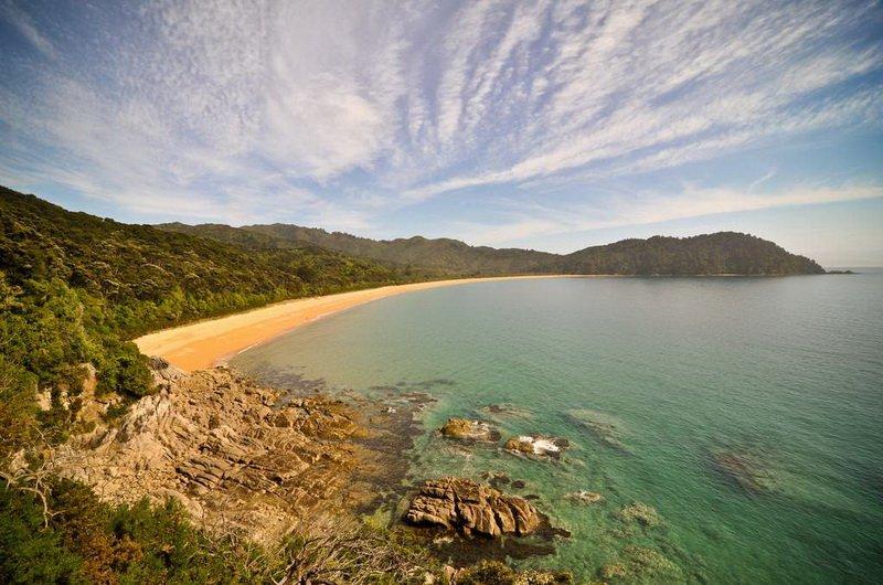 Пляж Тотарануи (Totaranui Bay), Новая Зеландия