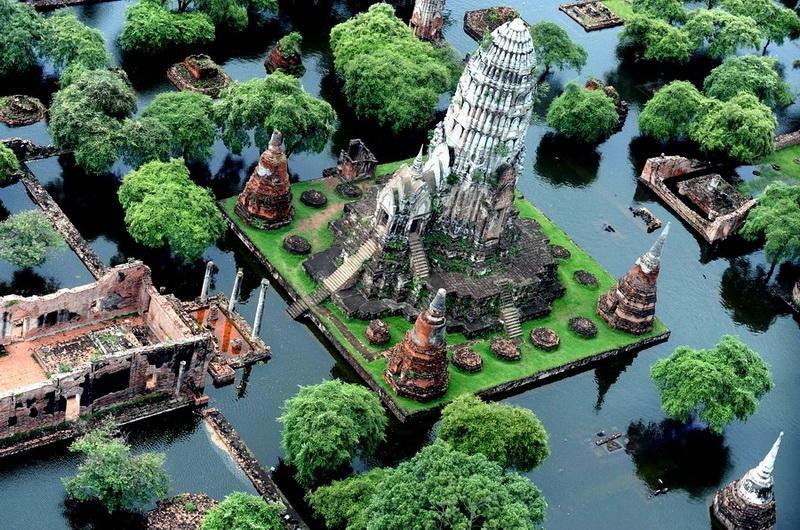 Парк Аюттхая в Бангкоке