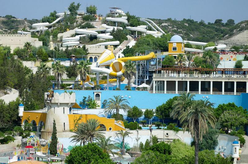 Аквапарк Фалираки, Родос