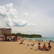 Центральный пляж Джубгы