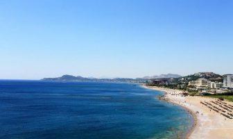 Пляж Фалираки, Родос