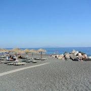 Пляж Камари, Санторини, Греция
