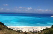 Пляж Миртос, Кефалония