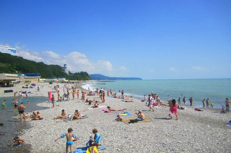 Пляж Небуга